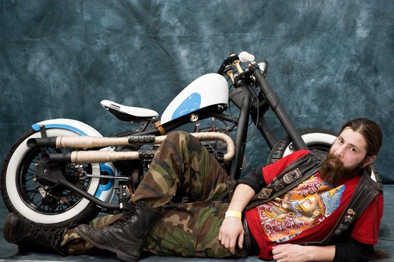 мотоцикл с прямотоком